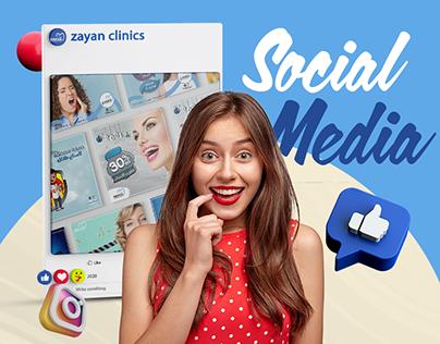 Zayan clinics social media