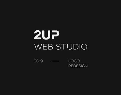 Redesign logotype 2UP Web Studio
