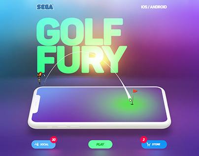 Golf Fury - UI/UX Design