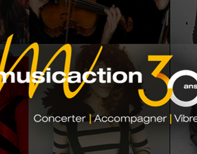 Musicaction – Site web