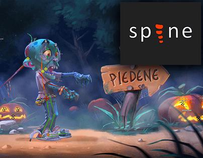 Halloween Spine Animation