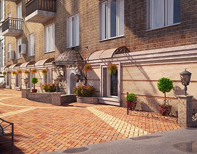 Примеры работ по архитектуре и декору фасадов Examples