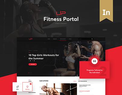 UPFitness - Web