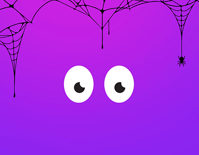 Halloween Masks Animated Loop