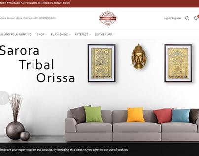 PracheenArts   E-commerce Website Banner