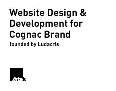 Website Design & Development for Cognac Brand