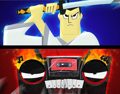 SamuraiJack vs MoRGENSHTERN