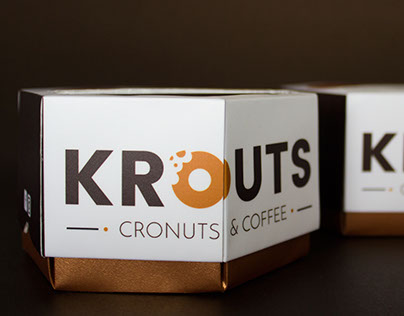 Cronuts & coffee packaging concept