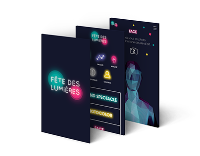 Application - Fête des Lumières Lyon