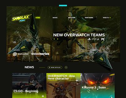 Snorlax - Gaming Webdesign