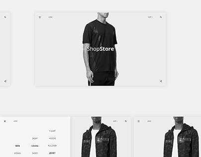 E-commerce webstore.