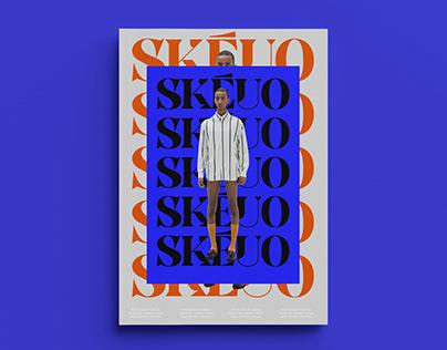 Skeuo / Branding of a luxury menswear brand