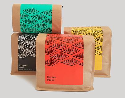 Krankies Coffee Roasters - Brand Identity & Packaging