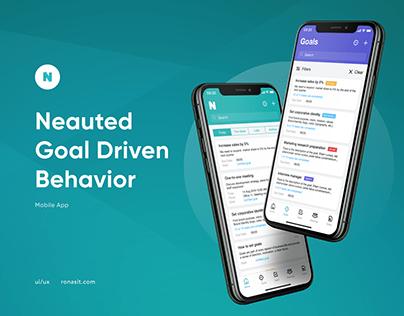 Neauted - goal driven behavior   UI/UX