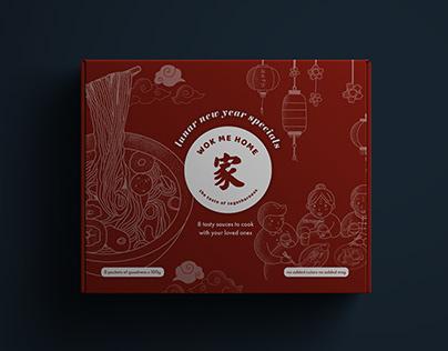 Wok Me Home Packaging & Branding