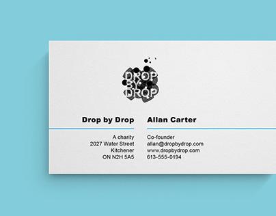 Drop by Drop—Charity Identity (2009)