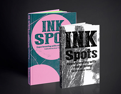 INK SPOTS experimenting with relief printing