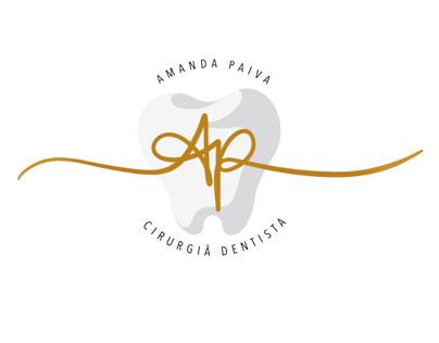 Propostas de cartão de visitas - Amanda Paiva