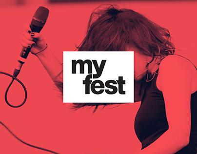 myfest - 360° branding, web & motion