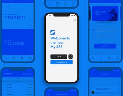 My SSS App Redesign