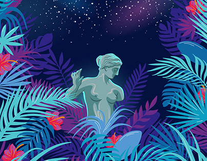 Goddess, Garden, and the Galaxy