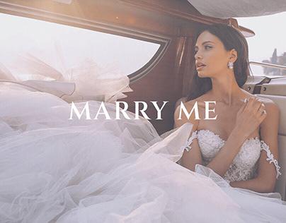 Wedding agency MARRY ME website