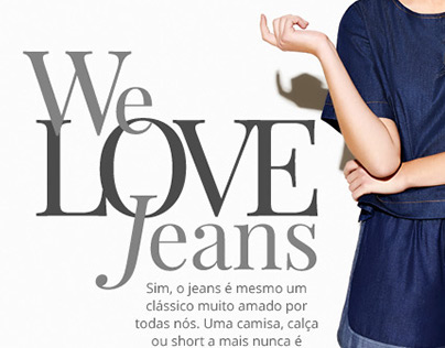 We Love Jeans - Email Newsletter