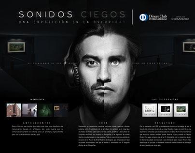 SONIDOS CIEGOS - DINERS CLUB