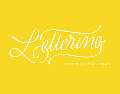✍ TALLER · Lettering, poner en palabras.