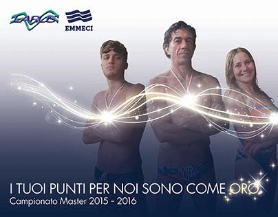 Locandina Campionato Nuoto Master