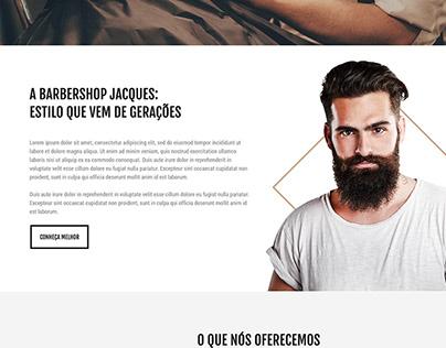 jacques barbershop | site institucional