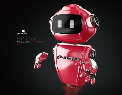 Protótipo Mascote 3D - Promove