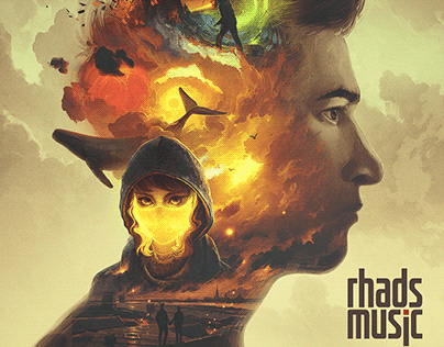 RHADS MUSIC. Covers for my music albums