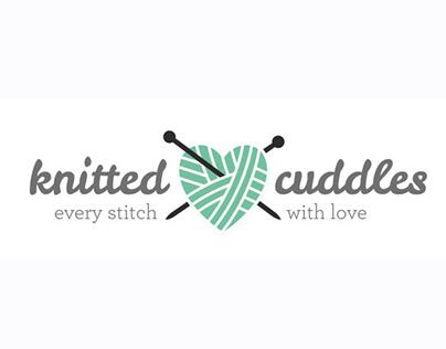 Knitted Cuddles: logo design