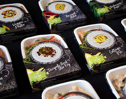 Crisp Meals packaging & social