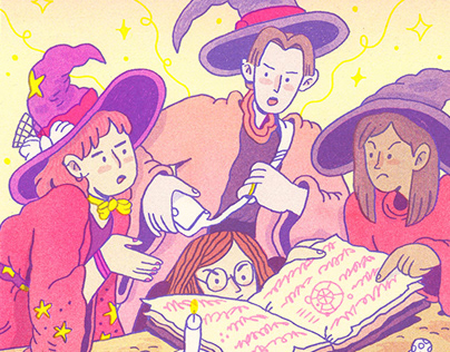 Witches (Risograph)