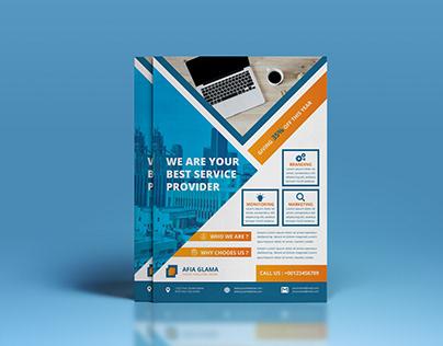 Simple & Clean Corporate or Multipurpose Flyer