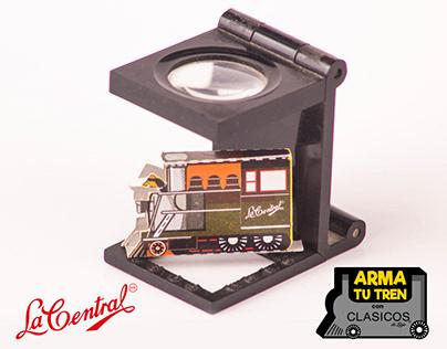 """""""Arma tu Tren"""" con Clásicos de La Central Cerillera"""