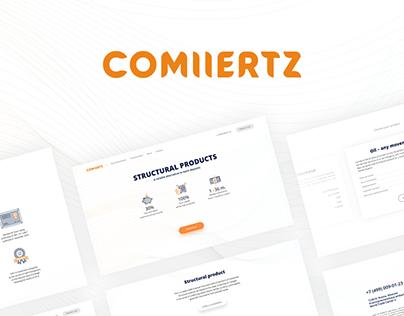 Commmertz landing design
