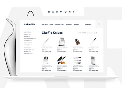Harmony - e-store of dinnerware.