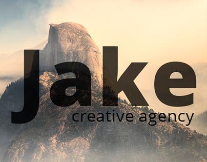 Jake Agency responsive website