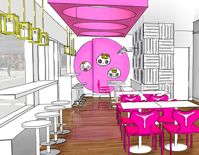 Village NYC// Bubble Tea Cafe