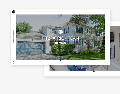 Fitzpatrick Realty Web UI Design & Development