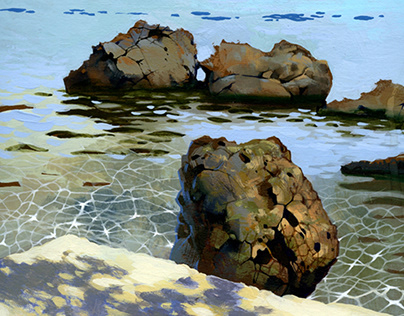 Watercolour Corfu Κέρκυρα