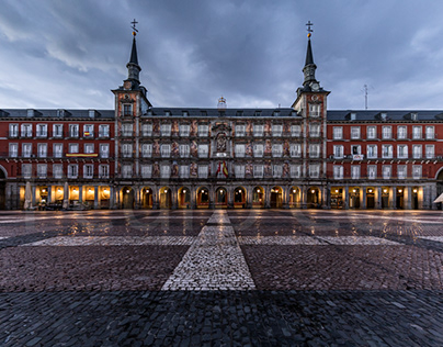 Madrid is empty during coronavirus lockdown