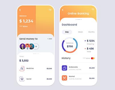 App design for Online Banking