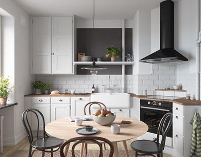 Scandinavian Apartment • 002