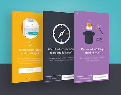 Ideadrop •App design