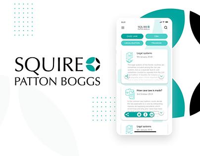 Squire Patton Boggs - Law mobile app