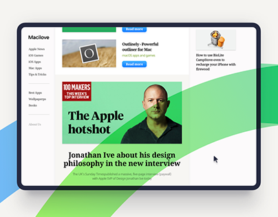 Macilove: Web Design